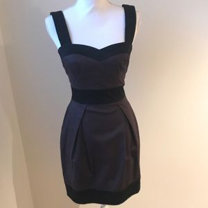 French connection color block pocket dress